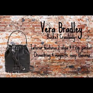 Vera Bradley Bucket Crossbody Purse